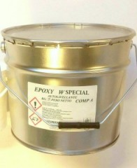 EPOXY W SPECIAL (SMALTO EPOSSIDICO BRILLANTE  ALL'ACQUA )